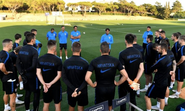 PHOTOS: New Look Croatia Prepare for Portugal Test
