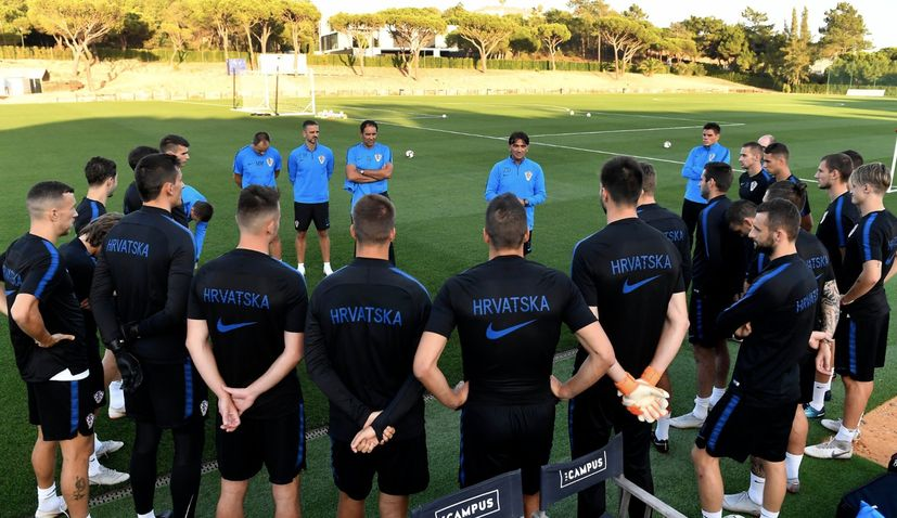 PHOTOS: New Look Croatia Prepare for Portugal Test