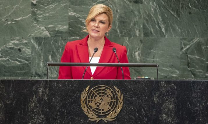 Address by the President of Croatia Kolinda Grabar-Kitarović at the 73rd Session of the United Nations General Assembly