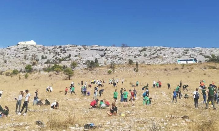 Thousands of new trees being planted in largest ever volunteer reforestation action in Croatia