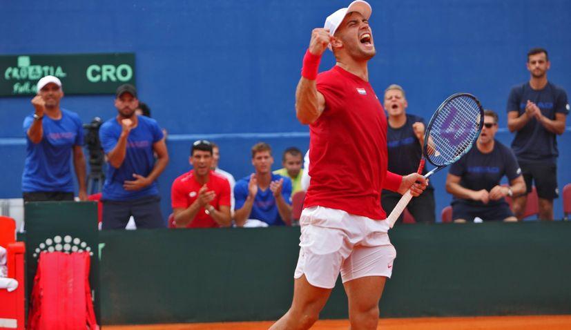 Davis Cup 2018 Semifinal: Croatia 1-0 USA