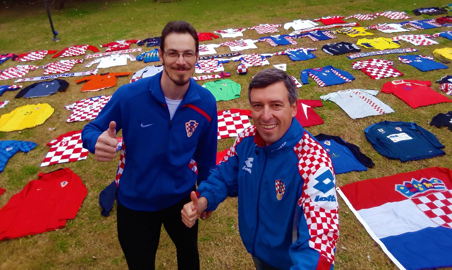 b66ed79a2 Meet the friends in Argentina with the biggest collection of Croatian  football shirts from around the world