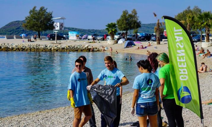 Top 5 most common waste found on Split beaches revealed after cleanup mission