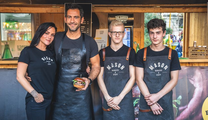 Best Burger Awards Held at Zagreb Burger Festival