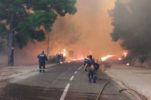 VIDEO: Big wildfire breaks out in Pelješac in Southern Dalmatia