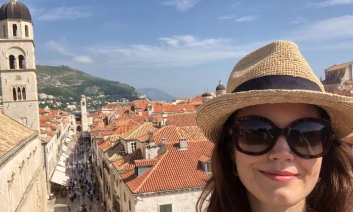 Dubrovnik Steals the Heart of 'Scandal' Star Bellamy Young
