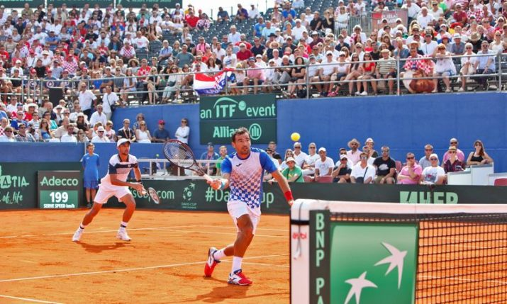 Davis Cup – Croatia vs USA: Bryan & Harrison pull it back to 2-1 after doubles win