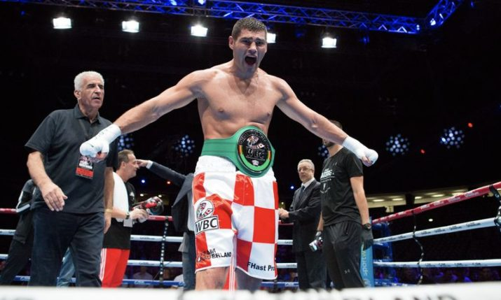 Croatian Boxer Filip Hrgović Wins WBC Title in Zagreb with KO