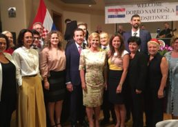 PHOTOS: President of Croatia Meets with New York's Croatian Community