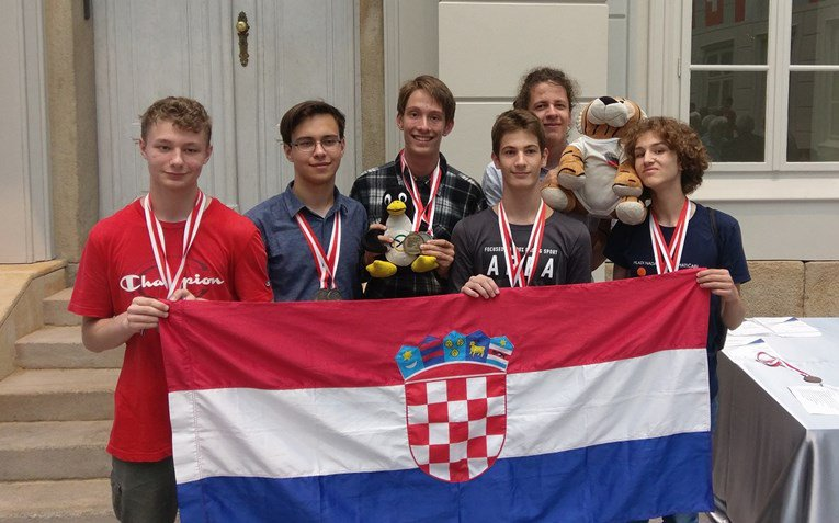 Gold for Croatia at the International Mathematical Olympiad