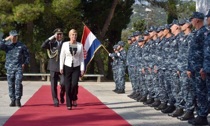 PHOTOS: 27th Anniversary of Croatian Navy Marked in Ploče