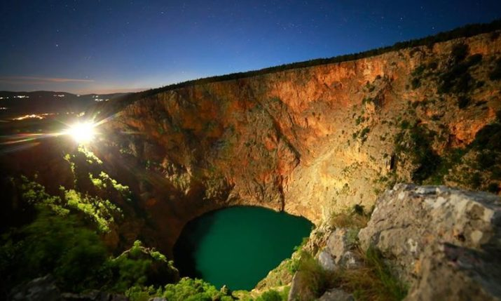 Red Lake in Imotski Being Explored for UNESCO GeoPark Application