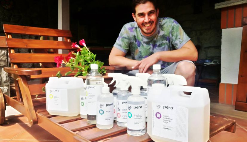 Croatian eco-cleaning brand pero changing the cleaning game
