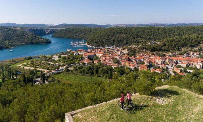 VIDEO: New 470 km Bike Route Through Krka National Park