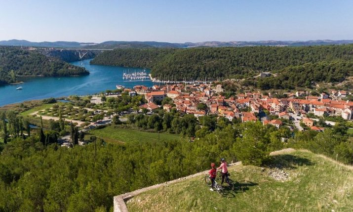 VIDEO: New 470 km Bike Route Through Krka National Park