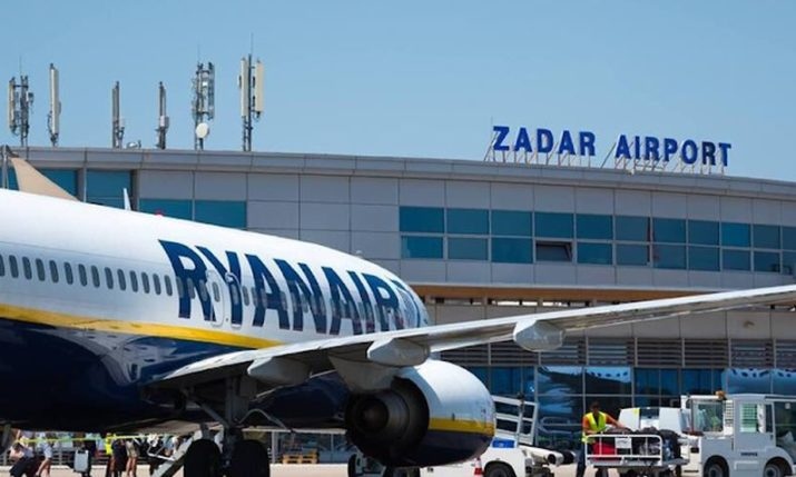 Ryanair announces new service to Zadar for next summer season