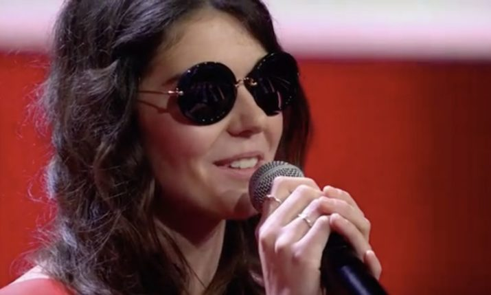 Blind Croatian woman steals the show on The Voice of Germany
