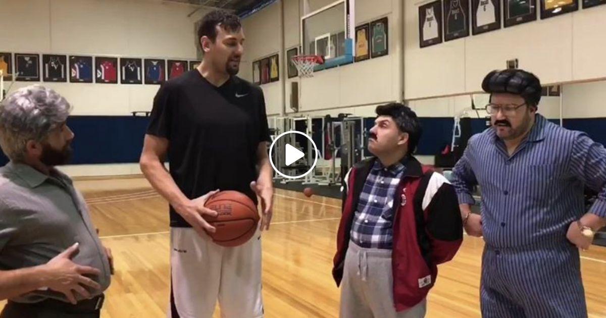 VIDEO: Ethnic Dads do a skit with Australian-Croatian NBA legend Andrew Bogut