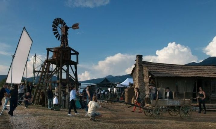 American town from the 1900s built in central Croatia for shooting international film