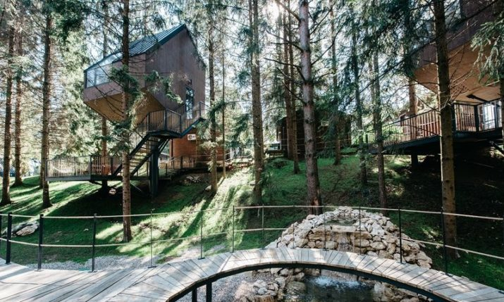 First Croatian glamping resort with wooden tree houses opens