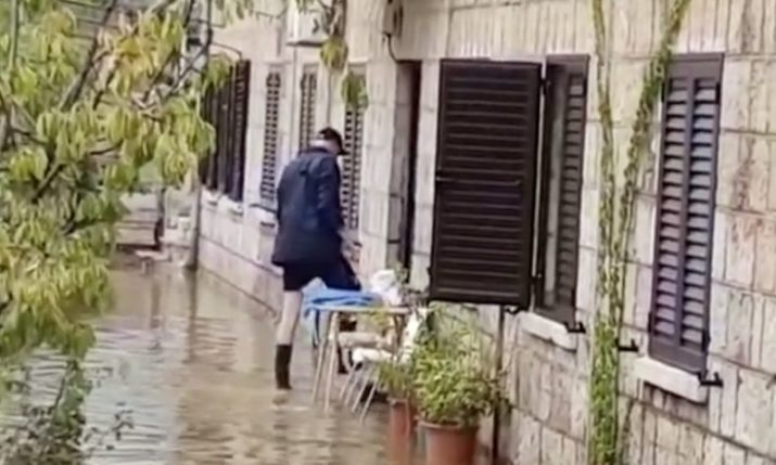 VIDEO: Daily rainfall record broken as flash-floods hit Dubrovnik