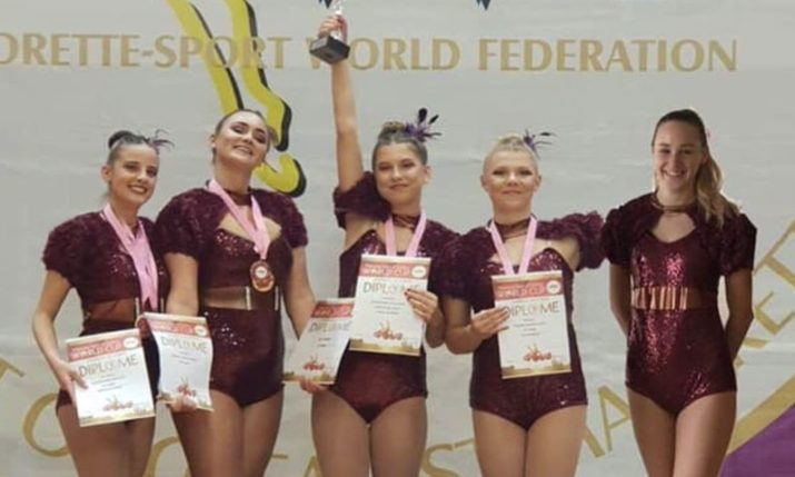 Fiume become first Croatian club to become twirling world champions