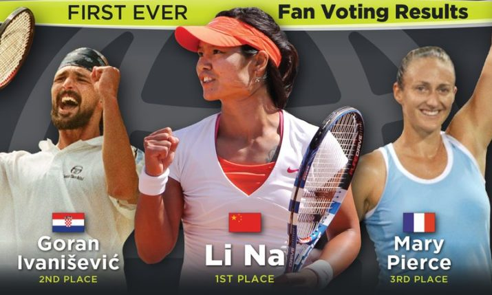 International Tennis Hall of Fame: Goran Ivanišević in Top 3 of fan voting