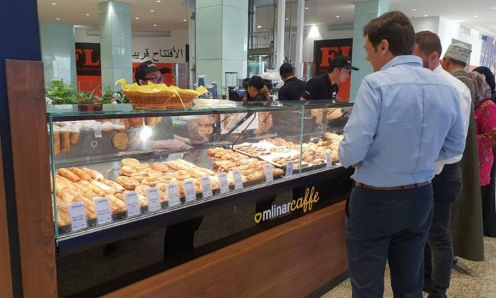 PHOTOS: First Croatian Mlinar Caffe bakery opens in Oman