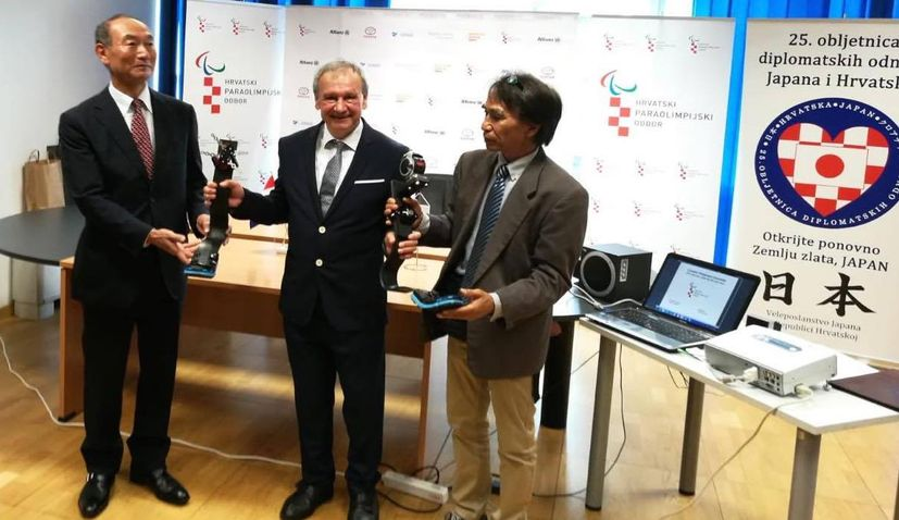 Croatian Paralympic Committee & Japanese foundation sign orthopaedic aids agreement
