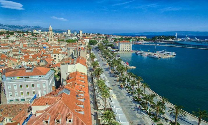 Split enjoying record-breaking tourist year after busy September