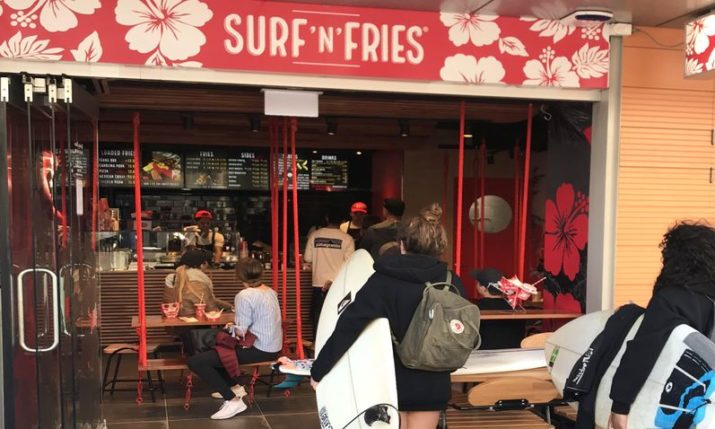 PHOTOS: Croatian food chain Surf 'n' Fries opens in Australia