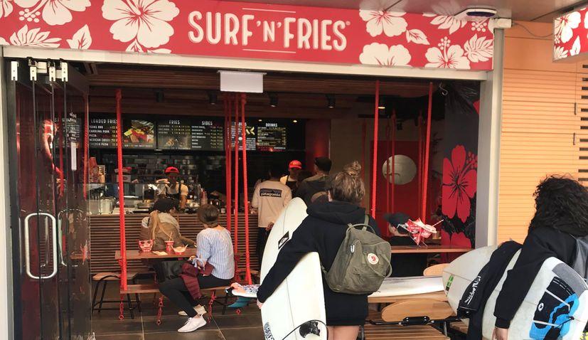 PHOTOS: Croatian food chain Surf 'n' Fries opens in Australia
