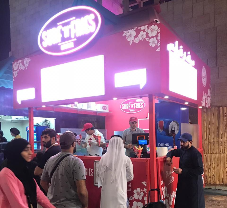 Croatian fast food chain Surf'n'Fries opens new outlets in Dubai