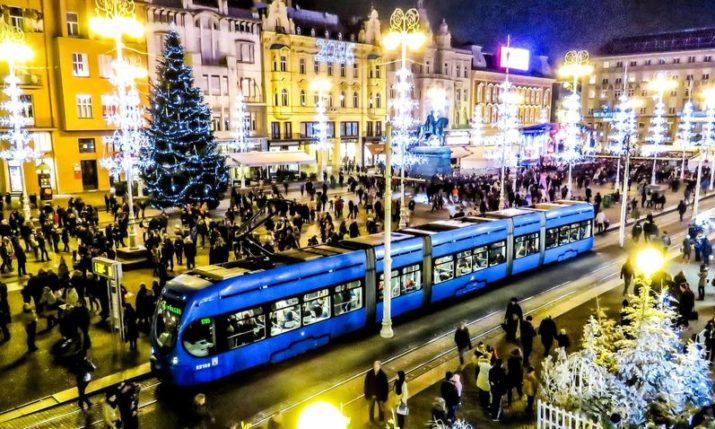 Advent in Zagreb: Trams & buses free on weekends