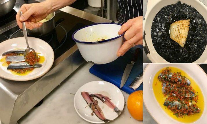 British Michelin star chefs prepare Croatian specialties in London