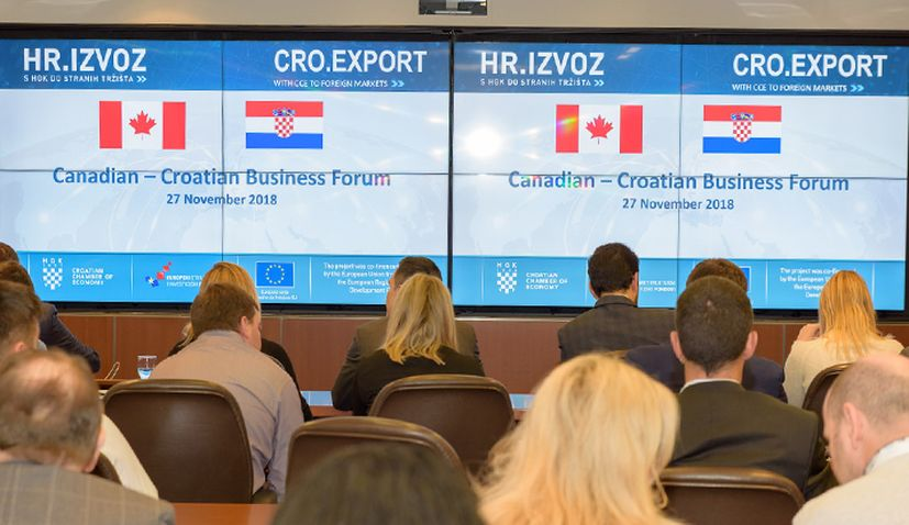 Croatian exports to Canada up by almost 150%