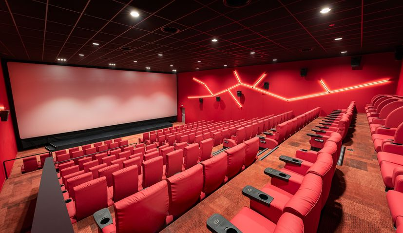 PHOTOS: First five-star cinema opens in Istria