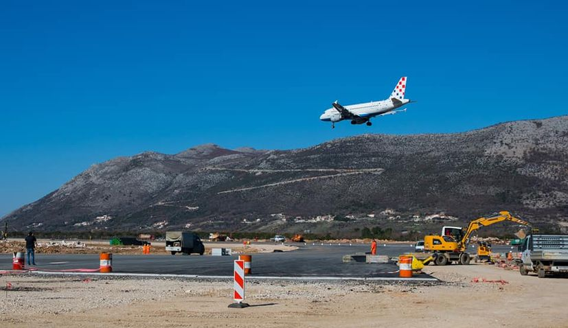 PHOTOS: Dubrovnik Airport becomes biggest construction site in Croatia as expansion resumes