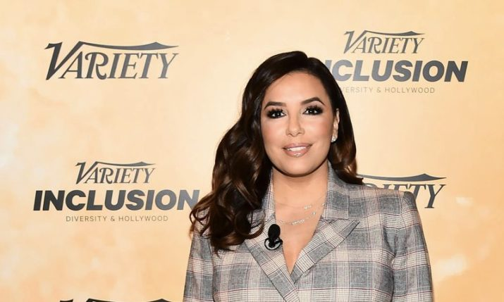 Eva Longoria in Croatian design at Variety event in Los Angeles