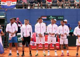 Croatia names team for Davis Cup tennis final against France