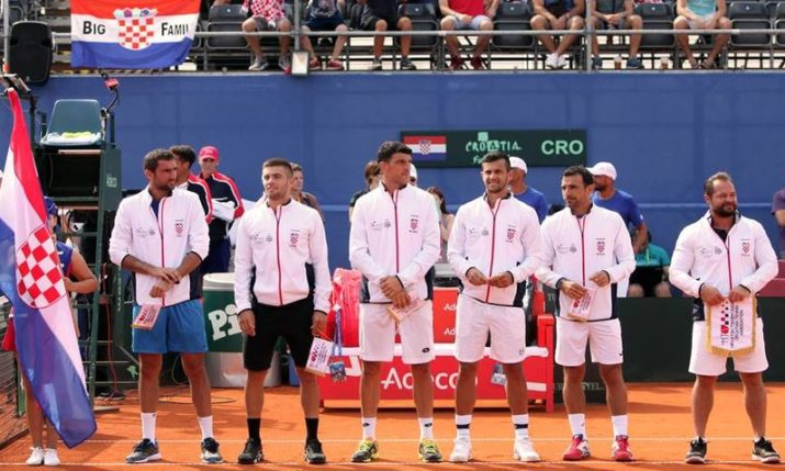 Croatia names team for Davis Cup tennis final against France
