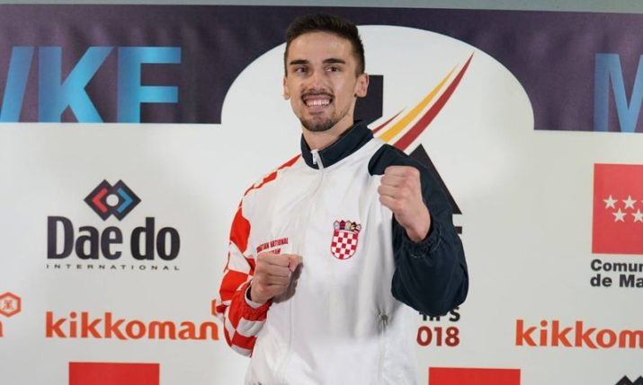 Croatia's Ivan Kvesić becomes Karate world champion