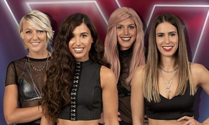 VIDEO: Croatian all-girl band impresses on The Voice of Holland
