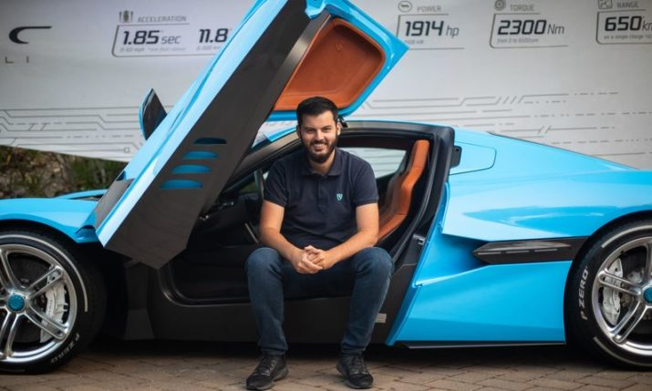 Croatia's Mate Rimac makes MIT 35 Innovators Under 35 list
