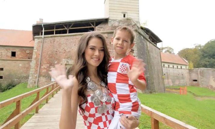 Video presenting Miss World Croatia released