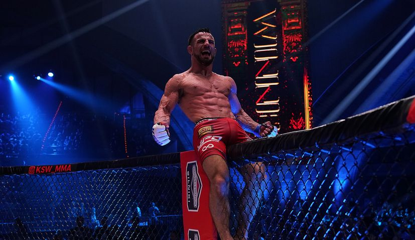 Two top Croatian MMA fighters on the card at KSW 46 this weekend