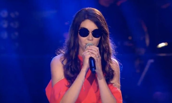 Blind Swiss-Croatian Bernarda Brunović steals the show again on The Voice of Germany