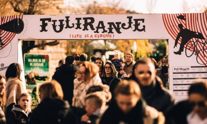 Best Advent in Zagreb: Fooling Around on Strossmayer square