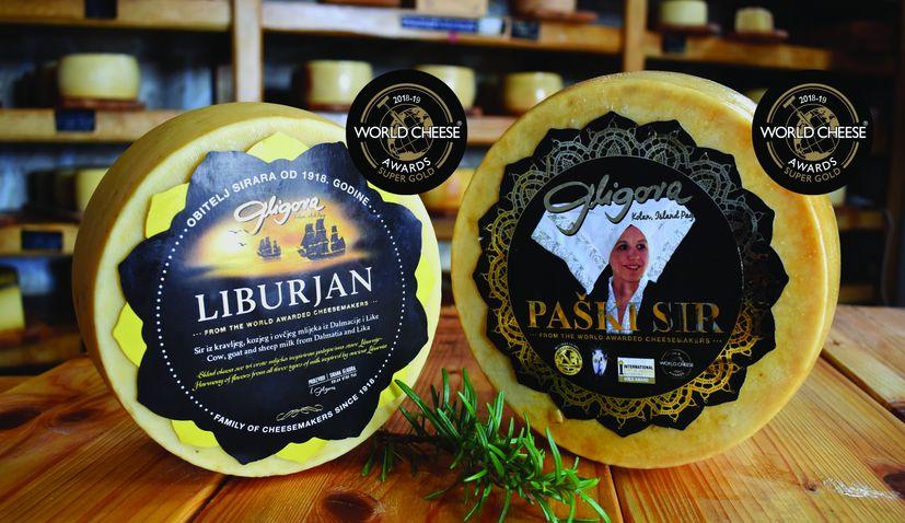 Two Croatian cheeses win Super Gold award at 2018 World Cheese Awards