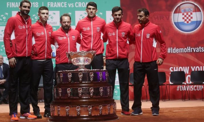 Davis Cup Final: Croatia leads France 2-0 after dream opening day